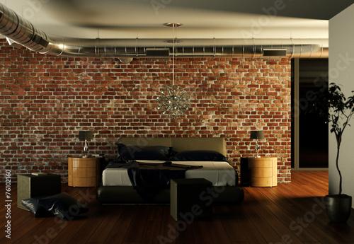 modernes schlafzimmer design, modernes schlafzimmer interieur design - buy this stock photo and, Design ideen