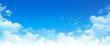 Leinwandbild Motiv panoramic cloudscape