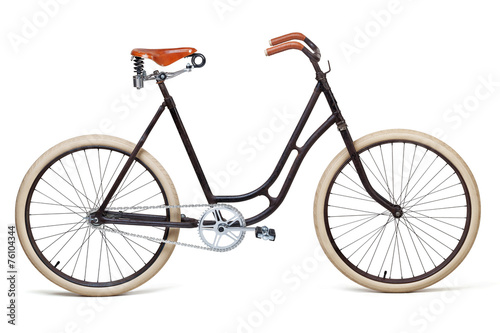 Deurstickers Fiets Vintage bicycle