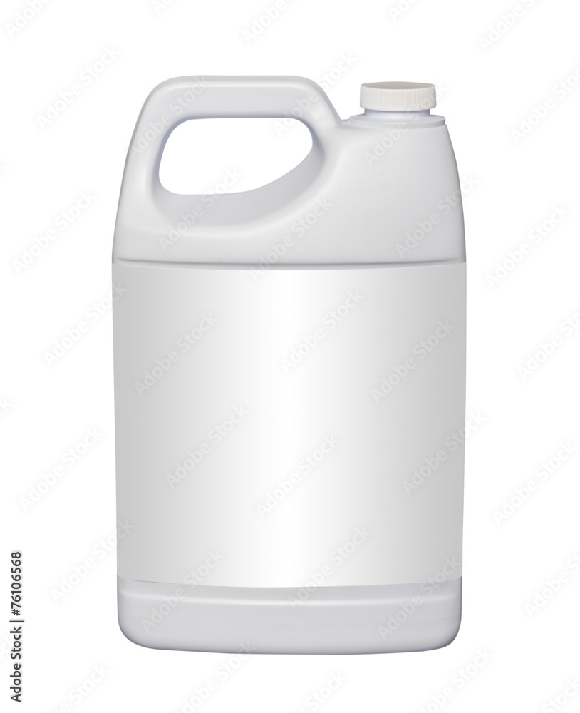 Fototapety, obrazy: Gallon plastic jug, isolated