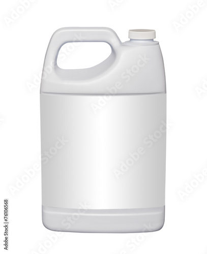 Fotografie, Obraz Gallon plastic jug, isolated