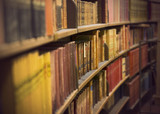 book store with antique books - 76110578