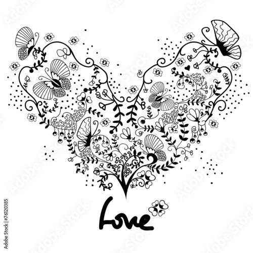 serce-z-roslinnym-ornamentem