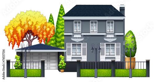 An elegant house