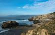 The coast of Ocean Beach, San Francisco