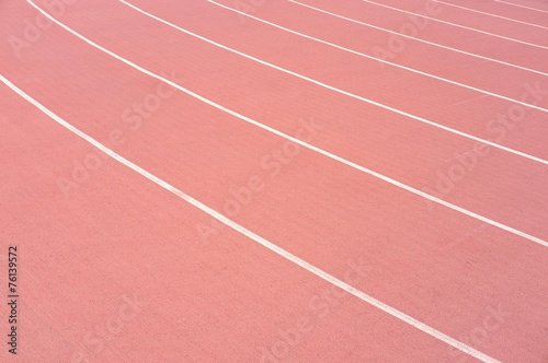 Poster Stadion Athletic running track lanes