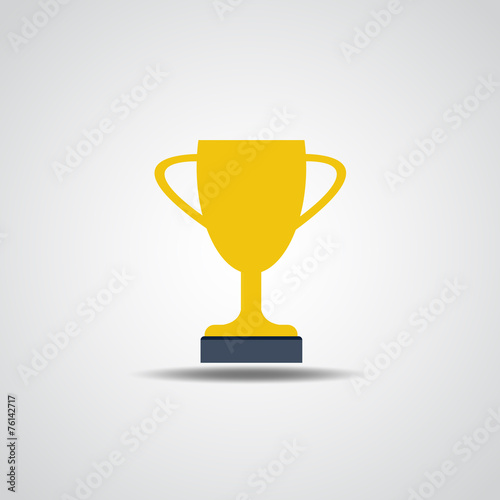 Fototapety, obrazy: Vector Champions Cup Icon vector illustration