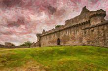 Craigmillar Castle Digital Pai...