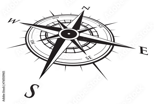Photographie compass background