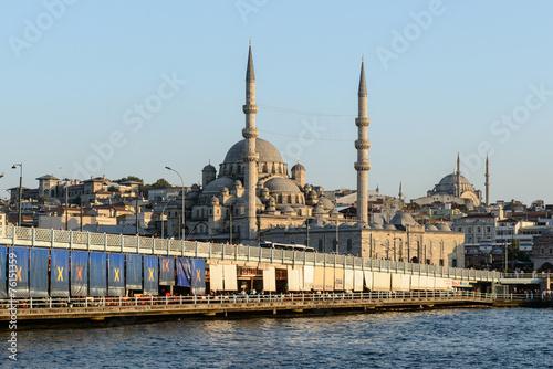 Plakat Stambuł, meczet