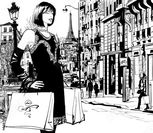 kobiety-robiace-zakupy-w-paryzu