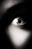 eye. black and white - 76177199
