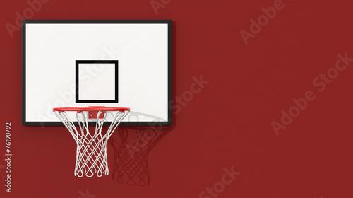 plakat obręcz do koszykówki