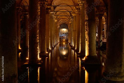 Basilica Cistern, Istanbul, Turkey. Wallpaper Mural