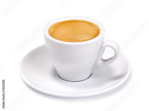 Fotografia  espresso cup isolated
