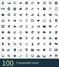100 Corporate Icons