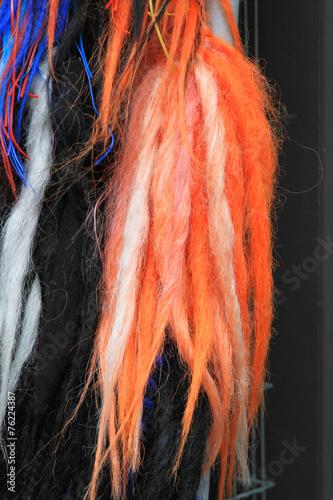 Obraz na plátně Color dreads