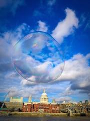 Bubbles in London