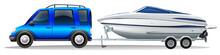 A Van And A Boat