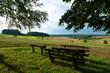 idyllische Landschft bei Madenhausen, Landkreis Schweinfurt, D