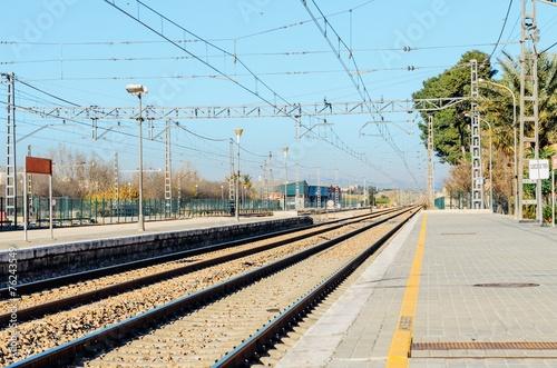 Parada del tren