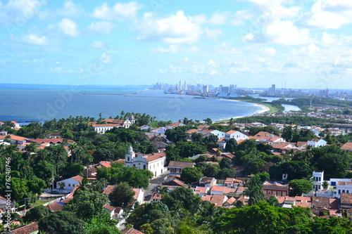 Olinda i Recife w tle