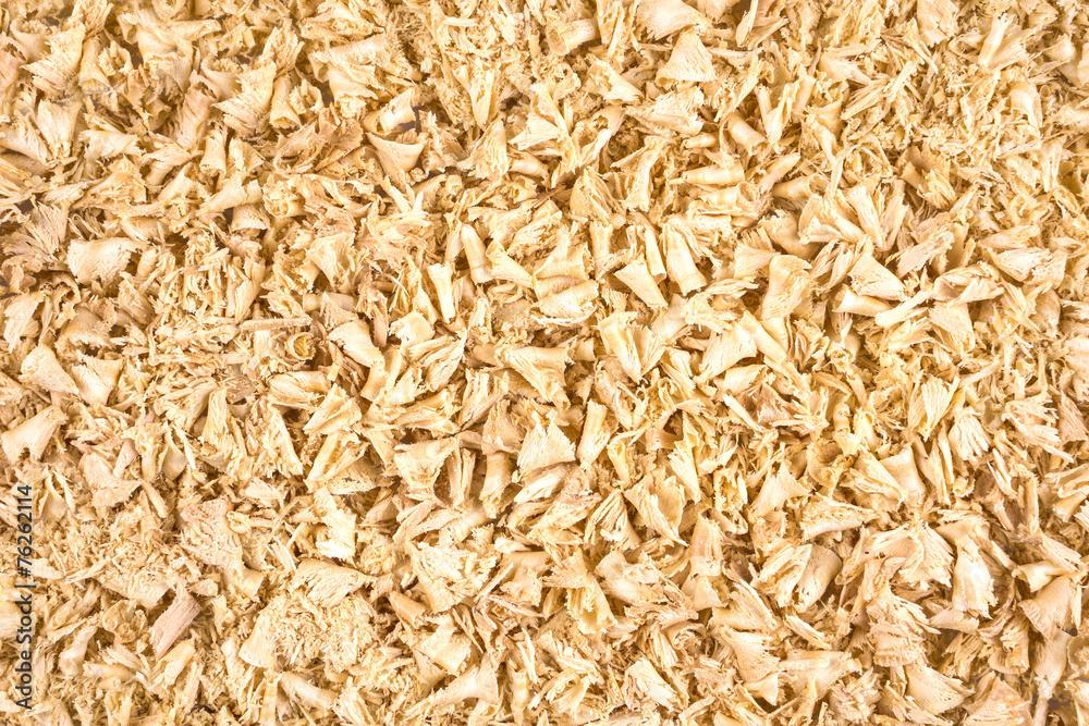 Valokuva Wooden shavings background