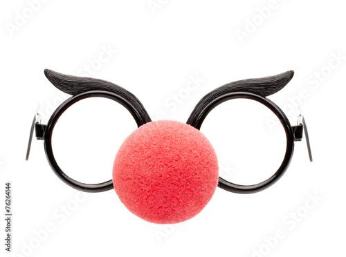 Brille  mit Clownnase Canvas-taulu