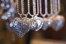 Valentine Silver Hearts