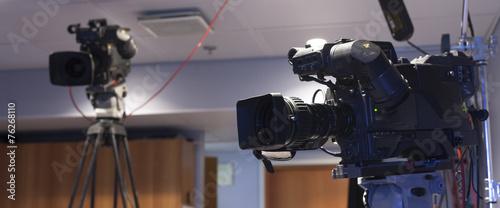 Valokuva  camera, TV broadcast hockey