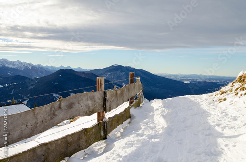 Wall Murals Northern Europe Berge_Alpen_Garmisch_Winter_Sonne_6