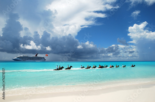 Foto op Plexiglas Caraïben Caribbean Attraction