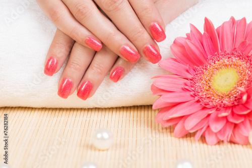 Manicure Canvas Print