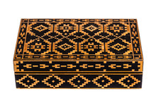 Vintage Bulgarian Wooden Box