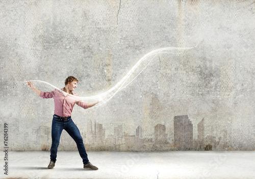 Fotografia Man magician