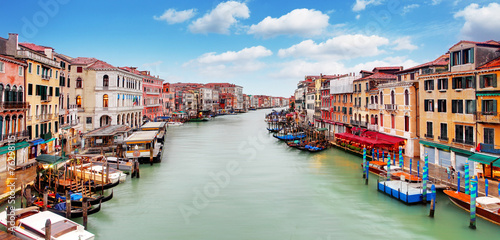 Foto op Plexiglas Venetie Venice - Rialto bridge and Grand Canal