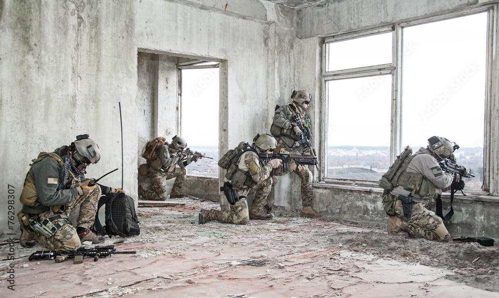 Fototapeta rangers in action