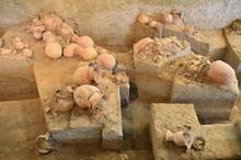 Ancient Pottery Of Ban Chiang, Udon Thani, Thailand