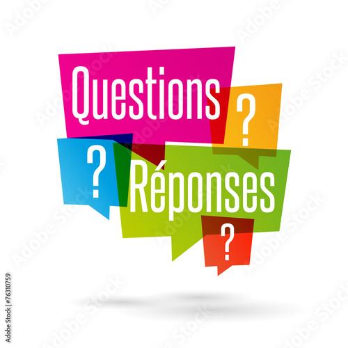 Fotografie, Obraz  Questions Réponses