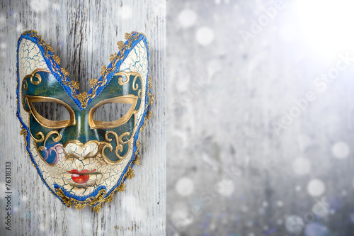 Printed kitchen splashbacks Carnaval Carnival mask