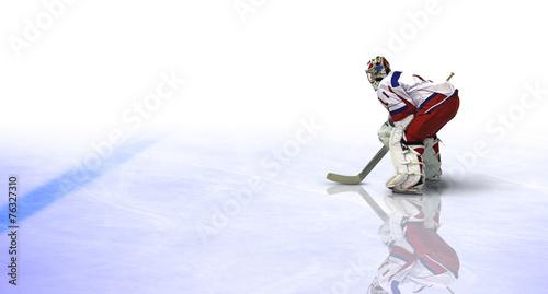 fototapeta na lodówkę Eishockey