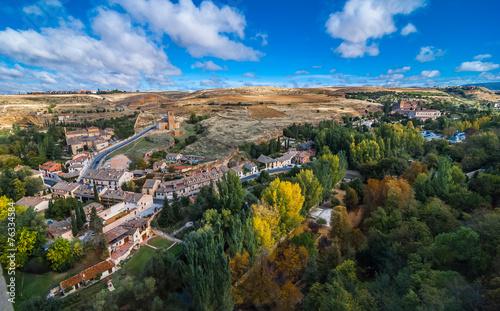 Foto op Aluminium Segovia Village countryside.