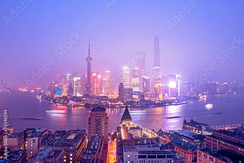 Shanghai's skyscrapers Poster