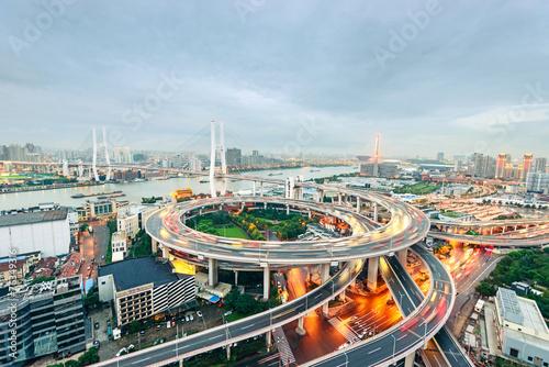Foto op Canvas Berlijn Shanghai's skyscrapers