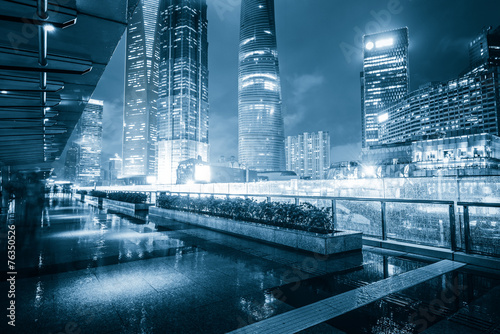 China modern city building Poster