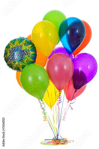 Balloons Bunch Of Happy Birthday