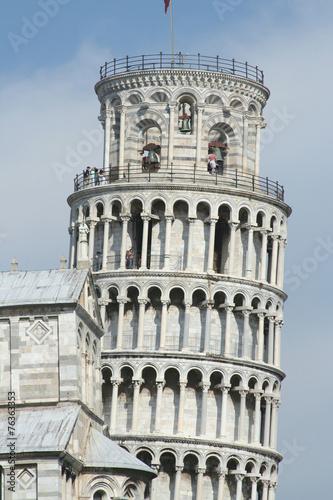 Toscana,Pisa,la Torre pendente.