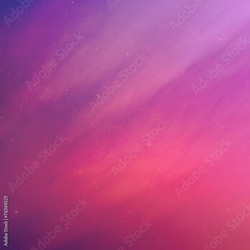 Spoed Foto op Canvas Roze The color sky with clouds, background