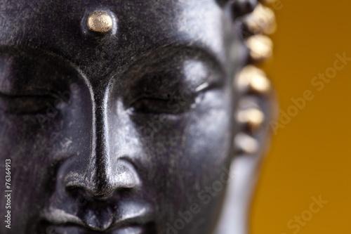 Buddha kopf close-up Slika na platnu