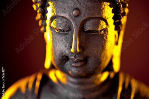 Asian Buddha enlightenment Slika na platnu